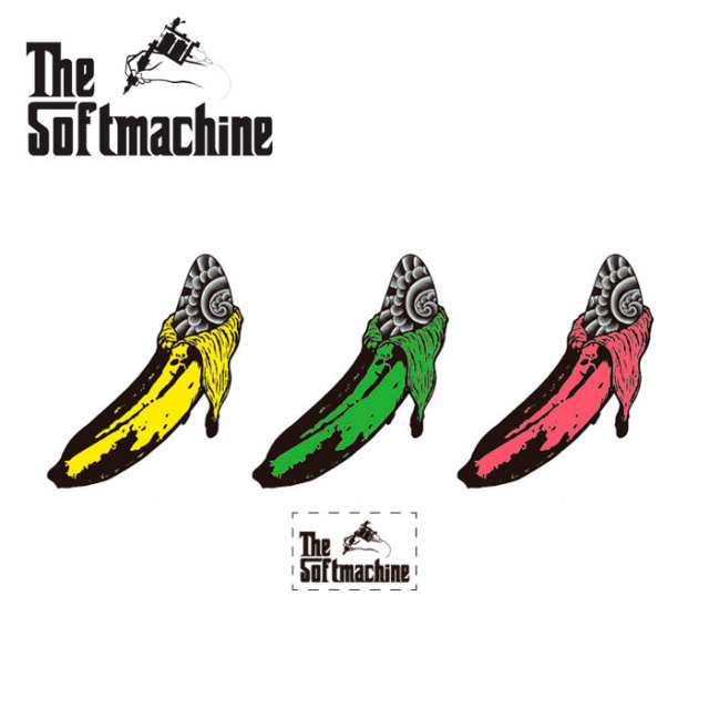 SOFTMACHINE(ソフトマシーン) BANANA STICKER SHEET(STICKER SHEET) 【先行予約】【キャンセル不可】 【SOFTMACHINE(ソフトマシー