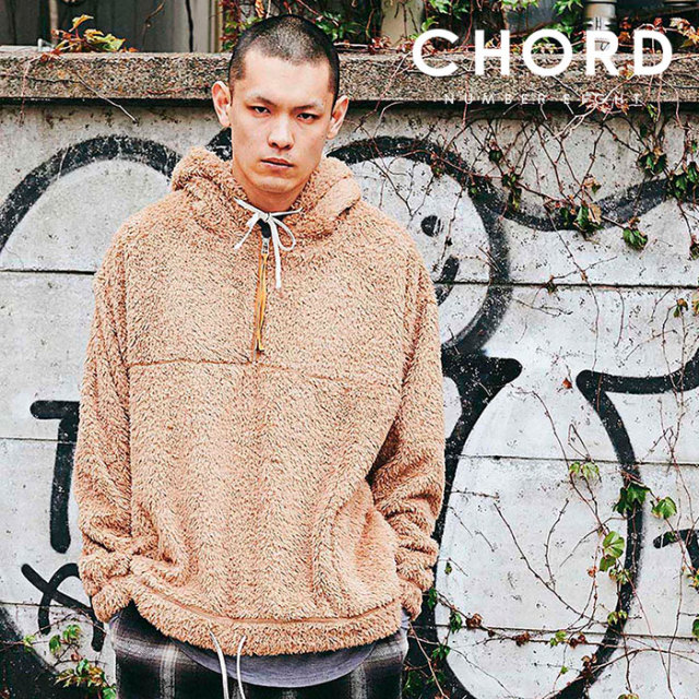 CHORD NUMBER EIGHT(コードナンバーエイト) BOA HOODIE 【2019AUTUMN&WINTER先行予約】 【キャンセル不可】【CH01-01K5-CL54】