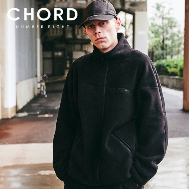 CHORD NUMBER EIGHT(コードナンバーエイト) OVERSIZED POLARTEC  FLEECE ZIP JACKET 【2019AUTUMN&WINTER先行予約】 【キャンセル
