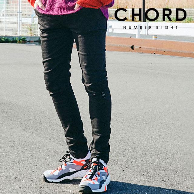 CHORD NUMBER EIGHT(コードナンバーエイト) BLACK SKINNY PANTS 【2019AUTUMN&WINTER先行予約】 【キャンセル不可】【CH01-01K5-P