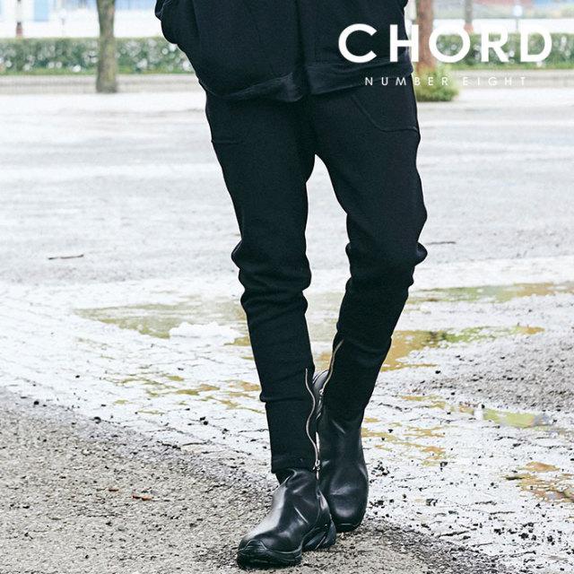 CHORD NUMBER EIGHT(コードナンバーエイト) ZIP SWEAT PANTS 【2019AUTUMN&WINTER先行予約】 【キャンセル不可】【CH01-01K5-PL11