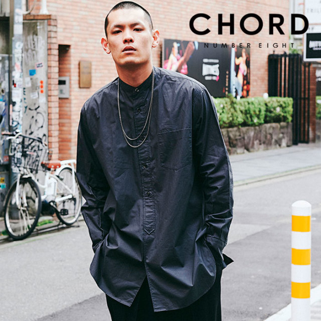 CHORD NUMBER EIGHT(コードナンバーエイト) LONG SHIRT 【2019AUTUMN&WINTER先行予約】 【キャンセル不可】【CH01-01K5-SL05】
