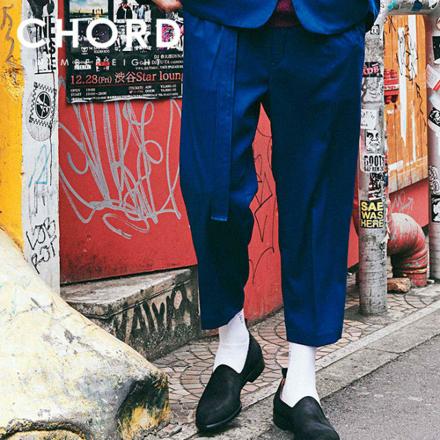 CHORD NUMBER EIGHT(コードナンバーエイト) TWO TUCK WIDE PANTS 【2019AUTUMN&WINTER先行予約】 【キャンセル不可】【CH01-01K5-