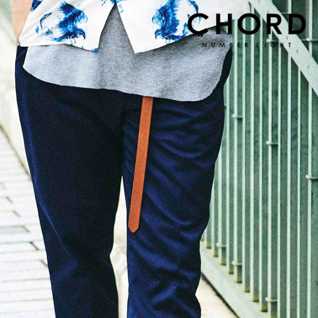 CHORD NUMBER EIGHT(コードナンバーエイト) LONG LEATHER  BELT 【ロングベルト】【牛革 おしゃれ 人気】【CHA1-02L1-AC13】【2020