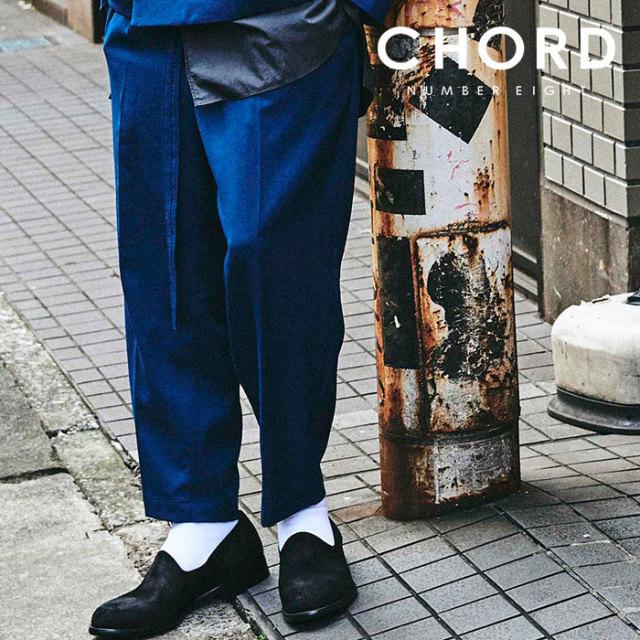 CHORD NUMBER EIGHT(コードナンバーエイト) TWO TUCK WIDE PANTS 【ワイドパンツ ツータック】【シンプル おしゃれ 人気】【CHA1-0
