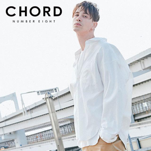 CHORD NUMBER EIGHT(コードナンバーエイト) BALLOON SHIRT 【バルーンシャツ】【オックスフォード シンプル おしゃれ 人気】【CHA1