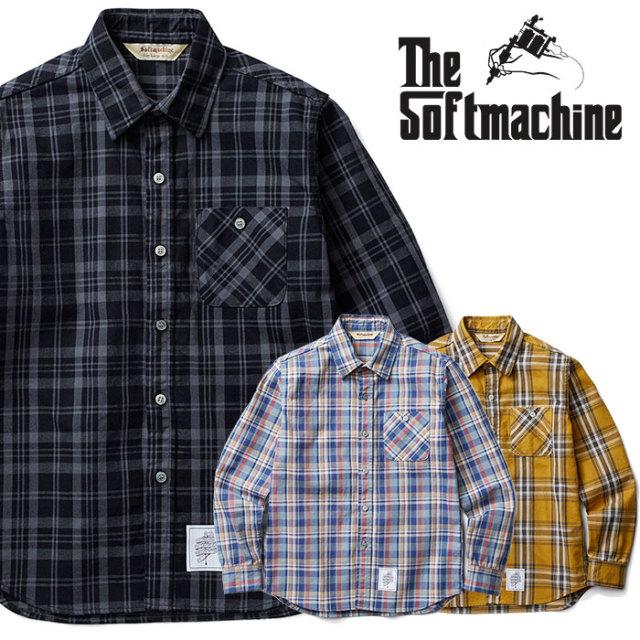 SOFTMACHINE(ソフトマシーン) DAILY FLANNEL(FLANNEL SHIRTS) 【2018AUTUMN/WINTER新作】【フランネルシャツ】