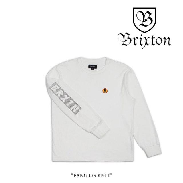 【SALE】 BRIXTON(ブリクストン) FANG L/S KNIT 【2018SPRING/SUMMER新作】 【即発送可能】