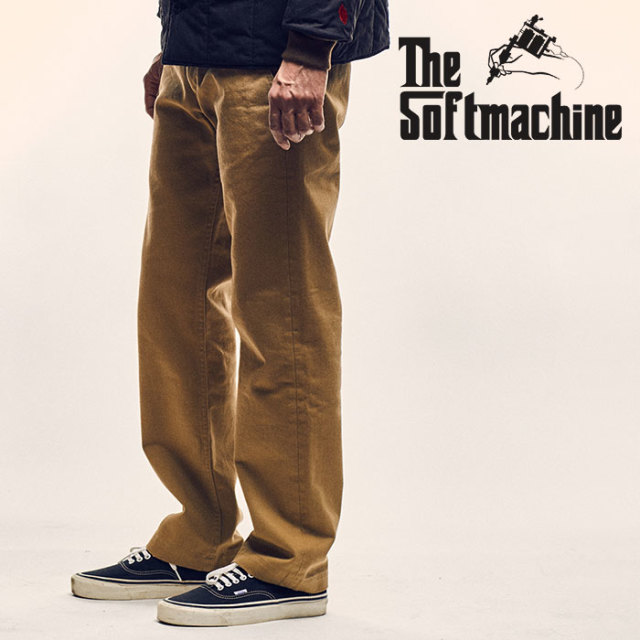 SOFTMACHINE(ソフトマシーン) GENERAL PANTS(MILITARY PANTS) 【2018AUTUMN/WINTER先行予約】【キャンセル不可】