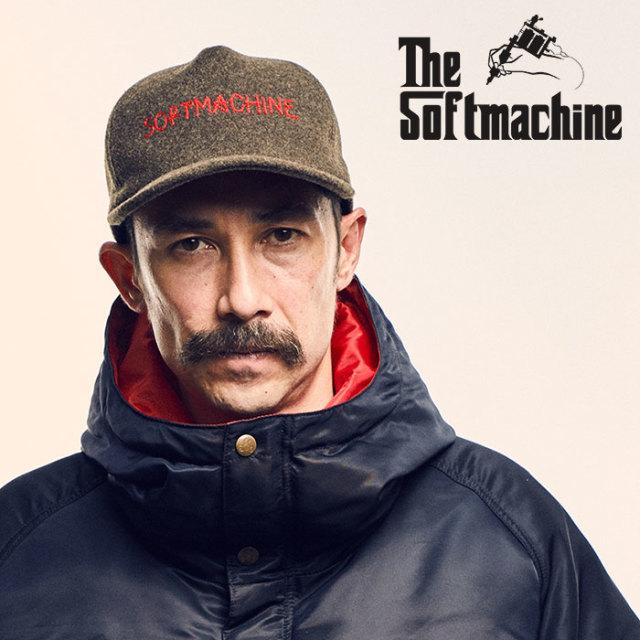 SOFTMACHINE(ソフトマシーン) GENIAL CAP(WOOL CAP) 【2018AUTUMN/WINTER新作】【ウール キャップ】