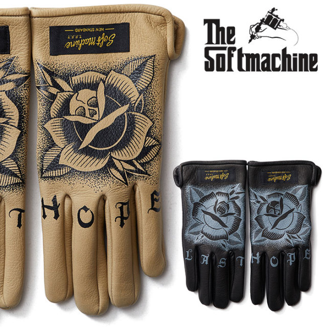SOFTMACHINE(ソフトマシーン) LAST HOPE GLOVE(LEATHER GLOVE) 【2018AUTUMN/WINTER先行予約】【キャンセル不可】