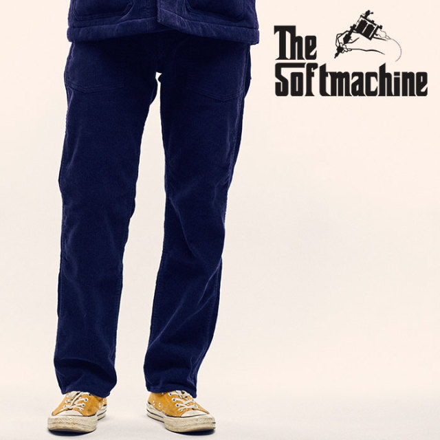 SOFTMACHINE(ソフトマシーン) NO COUNTRY PANTS(BAKER PANTS) 【2018AUTUMN/WINTER先行予約】【キャンセル不可】