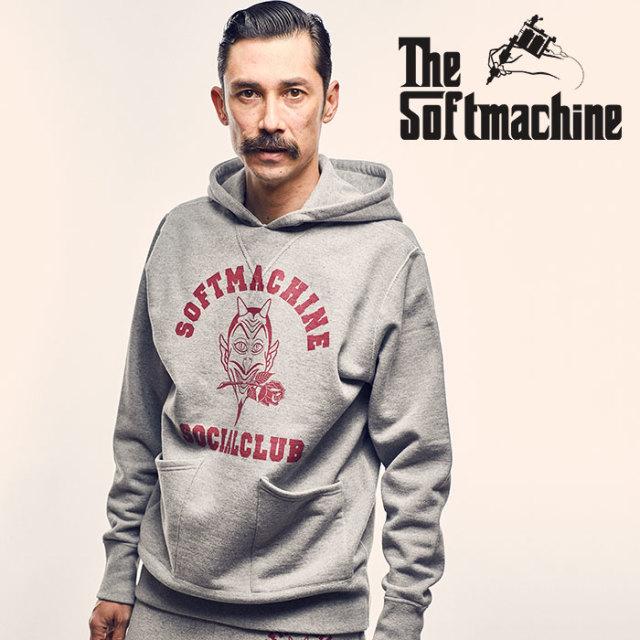 SOFTMACHINE(ソフトマシーン) SC HOODED(SWEAT PARKA) 【2018AUTUMN/WINTER新作】【フード パーカー】