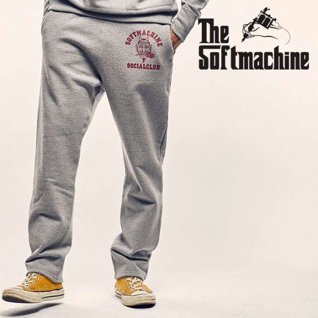 SOFTMACHINE(ソフトマシーン) SC SWEAT PANTS(SWEAT PANTS) 【2018AUTUMN/WINTER新作】【スウェットパンツ】