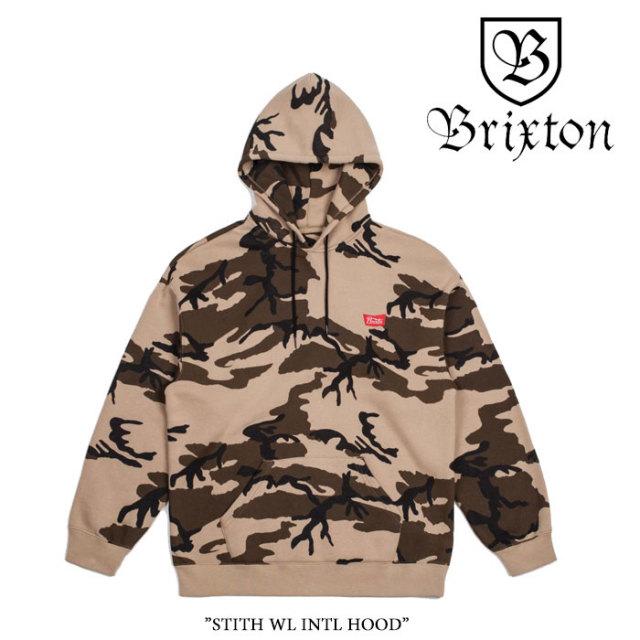 【SALE】 BRIXTON(ブリクストン) STITH WL INTL HOOD 【2018SPRING/SUMMER新作】