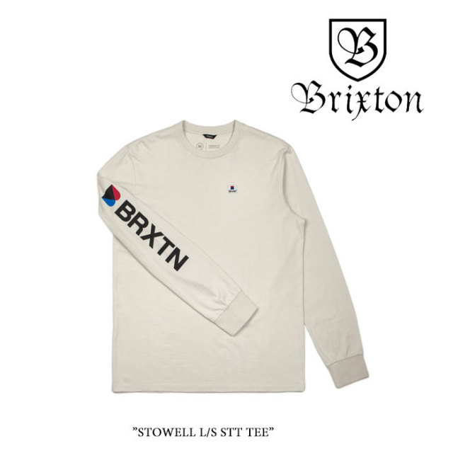 【SALE】 BRIXTON(ブリクストン) STOWELL L/S STT TEE 【2018SPRING/SUMMER新作】 【即発送可能】