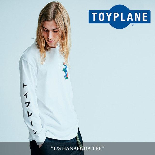 【SALE】 TOYPLANE(トイプレーン) L/S HANAFUDA TEE 【2018SPRING/SUMMER新作】【TP18-HTE01】