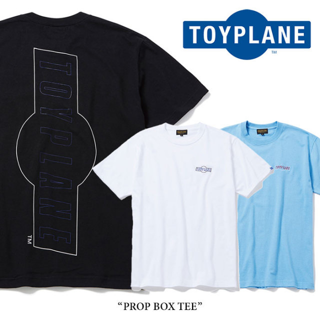 TOYPLANE(トイプレーン) PROP BOX TEE 【2018SPRING/SUMMER新作】 【即発送可能】 【TOYPLANE Tシャツ】 【TP18-HTE07】