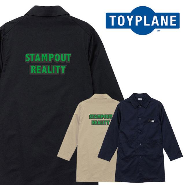 TOYPLANE(トイプレーン) STAMPOUT COAT 【コート】【2020 SUMMER GRAFIC ISSUE 先行予約】【TP20-NJK01】【キャンセル不可】
