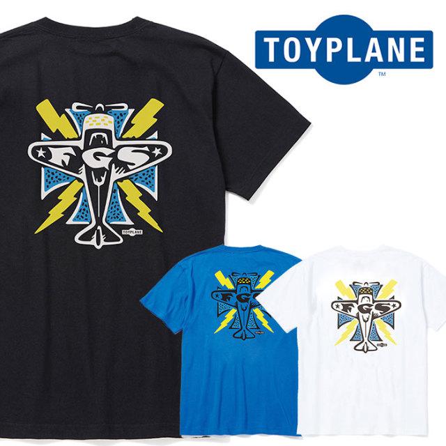 TOYPLANE(トイプレーン) S/S IRON CROSS TEE 【Tシャツ プリント 半袖】【2020 SUMMER GRAFIC ISSUE 先行予約】【TP20-NTE03】【キ