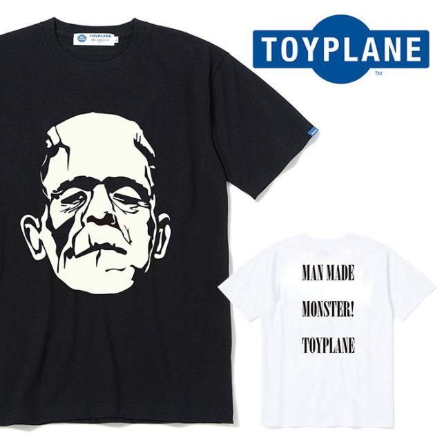 TOYPLANE(トイプレーン) S/S MONSTER TEE 【Tシャツ プリント 半袖】【2020 SUMMER GRAFIC ISSUE 先行予約】【TP20-NTE05】【キャ