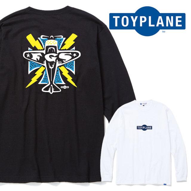 TOYPLANE(トイプレーン) L/S IRON CROSS TEE 【ロングスリーブTシャツ プリント 長袖】【2020 SUMMER GRAFIC ISSUE 先行予約】【TP