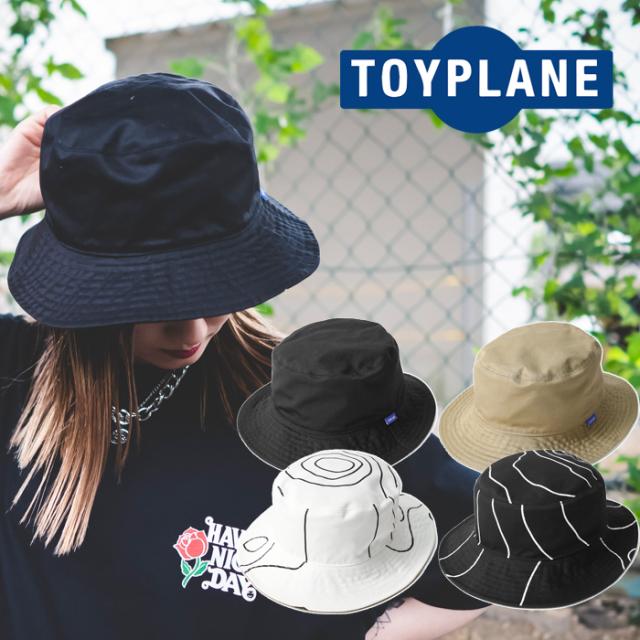 TOYPLANE(トイプレーン) ISOBAR REVERSIBLE BUCKET HAT 【バケットハット 帽子】【2021HIGH SUMMER先行予約】【TP21-NCP01】【キャ