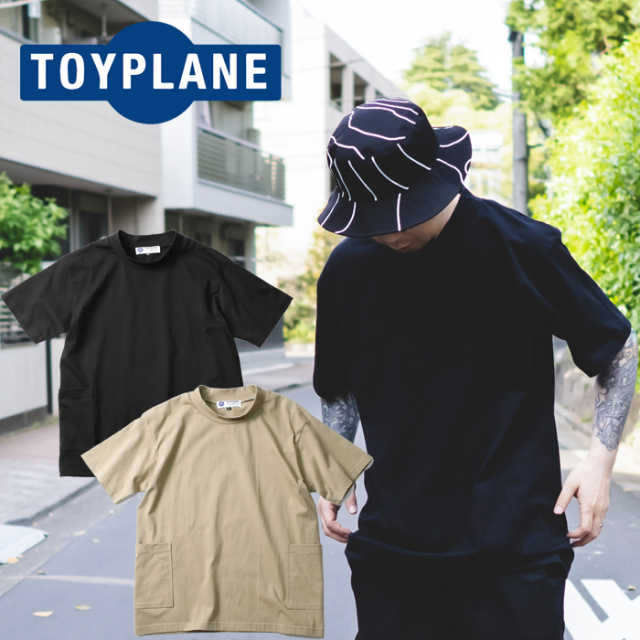 TOYPLANE(トイプレーン) MOCK NECK TEE 【Tシャツ モックネック 半袖】【2021HIGH SUMMER先行予約】【TP21-NCS01】【キャンセル不