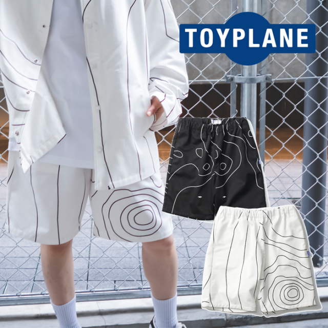 TOYPLANE(トイプレーン) ISOBAR SHORTS 【ショーツ 短パン】【2021HIGH SUMMER先行予約】【TP21-NPT01】【キャンセル不可】