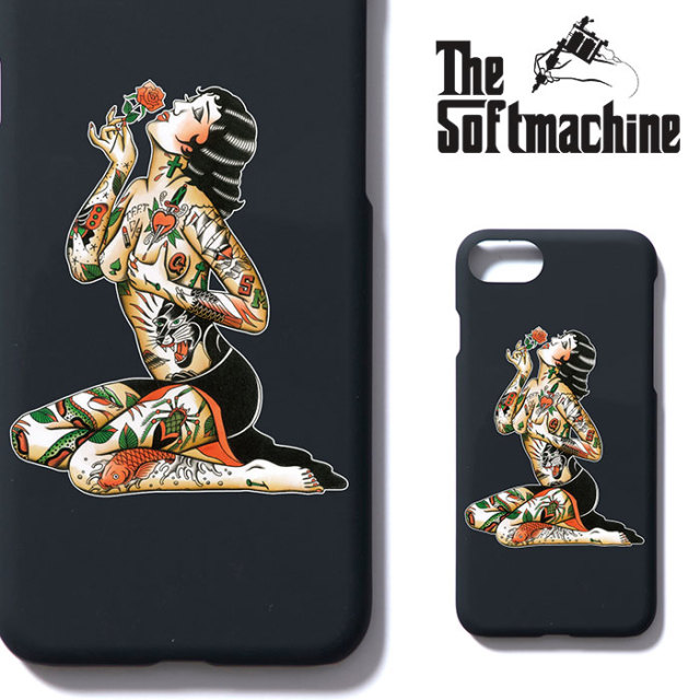 SOFTMACHINE(ソフトマシーン) VARGAS iPhone CASE(iPhone 7&8 CASE) 【2018AUTUMN/WINTER新作】