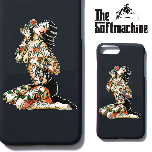 SOFTMACHINE(ソフトマシーン) VARGAS iPhone CASE(iPhone 7&8 Plus CASE) 【2018AUTUMN/WINTER新作】