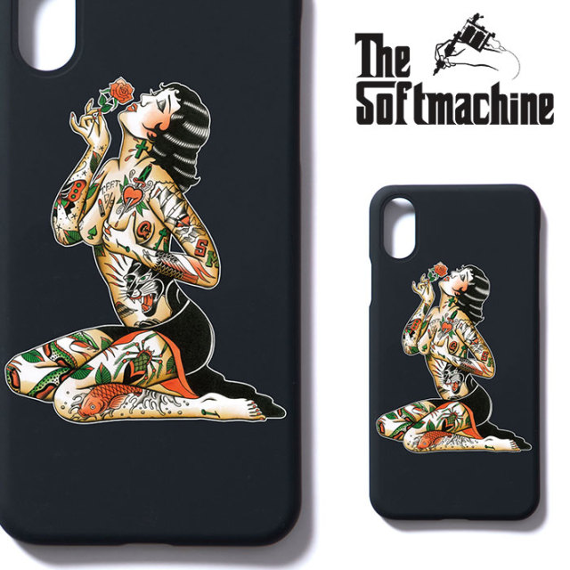 SOFTMACHINE(ソフトマシーン) VARGAS iPhone CASE(iPhone X CASE) 【2018AUTUMN/WINTER新作】
