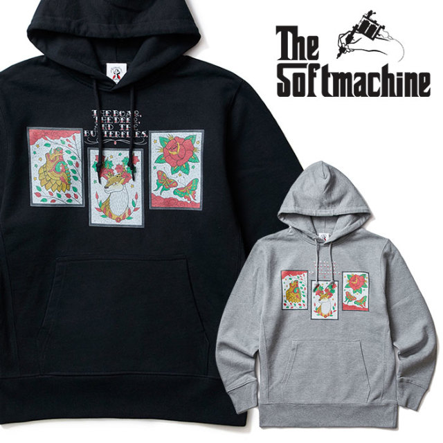 SOFTMACHINE(ソフトマシーン) WILD THREE HOODED(SWEAT PARKA) 【2018AUTUMN/WINTER先行予約】【キャンセル不可】