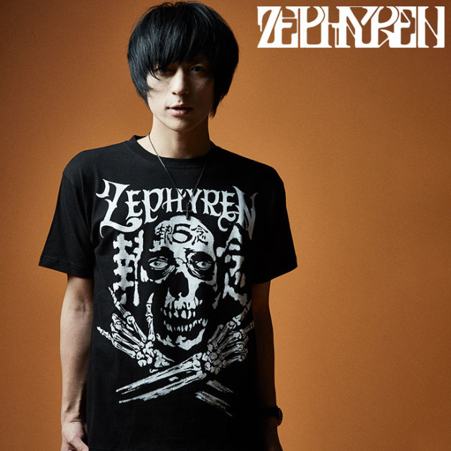 ZEPHYREN(ゼファレン) SKULL HEAD5執念 【Tシャツ】【Z20PL45】 【2020SUMMER先行予約】【キャンセル不可】