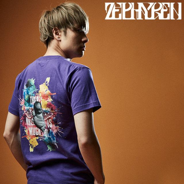 ZEPHYREN(ゼファレン) S/S TEE - Raw color - 【Tシャツ】【Z20PL49】 【2020SUMMER先行予約】【キャンセル不可】