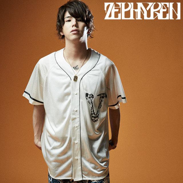 ZEPHYREN(ゼファレン) BIG BASEBALL SHIRT  【ベースボールシャツ】【Z20UD05】【2020SUMMER先行予約】【キャンセル不可】
