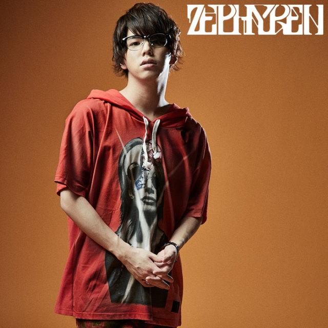 ZEPHYREN(ゼファレン) DOLMAN BIG HOODY S/S 【ビッグフーディー 半袖】【Z20UH07】【2020SUMMER先行予約】【キャンセル不可】