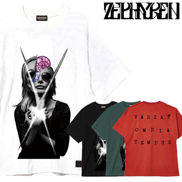 ZEPHYREN(ゼファレン) DOLMAN BIG TEE S/S 【ビッグTシャツ 半袖】【Z20UH08】【2020SUMMER先行予約】【キャンセル不可】