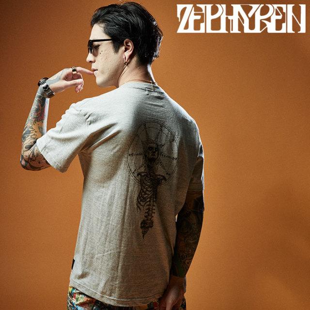 ZEPHYREN(ゼファレン) S/S TEE - As above, So below - 【Tシャツ】【Z20UL10】 【2020SUMMER先行予約】【キャンセル不可】