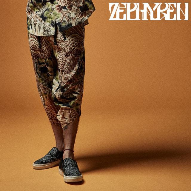ZEPHYREN(ゼファレン) DEFORMATION PANTS 【8分丈パンツ】【Z20UP14】 【2020SUMMER先行予約】【キャンセル不可】