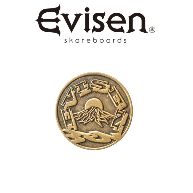Evisen Skateboards (エヴィセン スケートボード) EVIREST PINS 【ピンズ】【2020FALL&WINTER COLLECTION】【00004822】