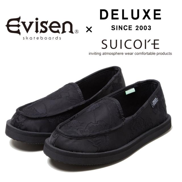 【EVISEN】 Evisen Skateboards (エヴィセン スケートボード)  DELUXE × EVISEN Suicoke CoMab  【スリッポン】【CoMab Suicoke ス