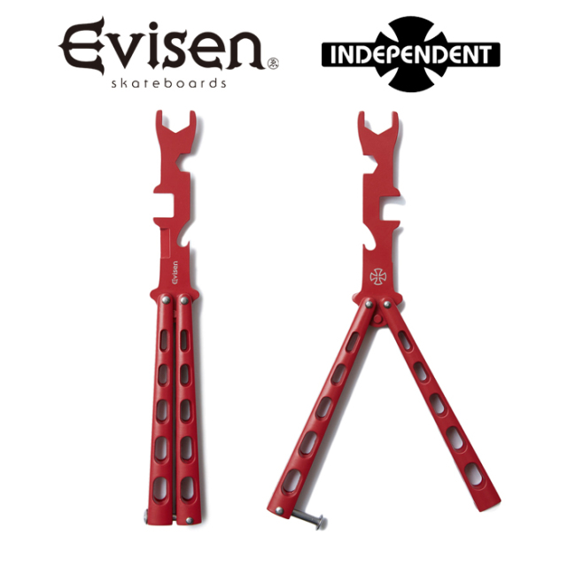 Evisen Skateboards (エヴィセン スケートボード) INDEPENDENT x EVISEN SWAG TOOL 【スケボーツール】【コラボレーション】 【202
