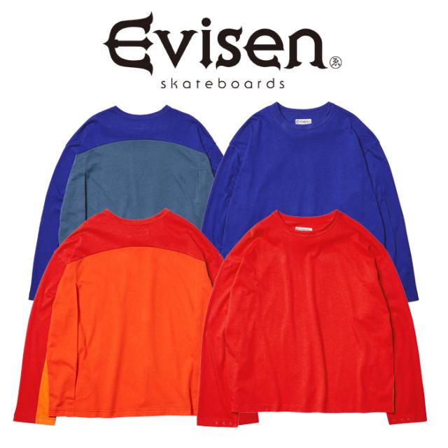 Evisen Skateboards (エヴィセン スケートボード) HUE LS T-SHIRT 2.0 【ロングスリーブTシャツ】【2021SPRING&SUMMER COLLECTION