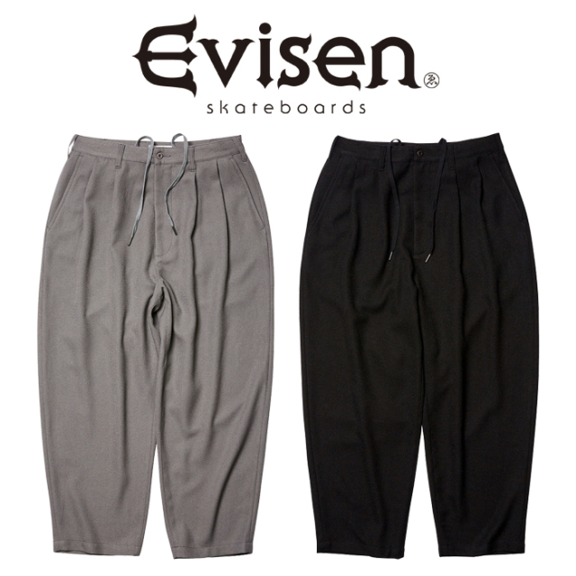 【EVISEN】 Evisen Skateboards (エヴィセン スケートボード)  BOHEMIAN SLACKS  【イージー パンツ】【2021SPRING&SUMMER COLLECT