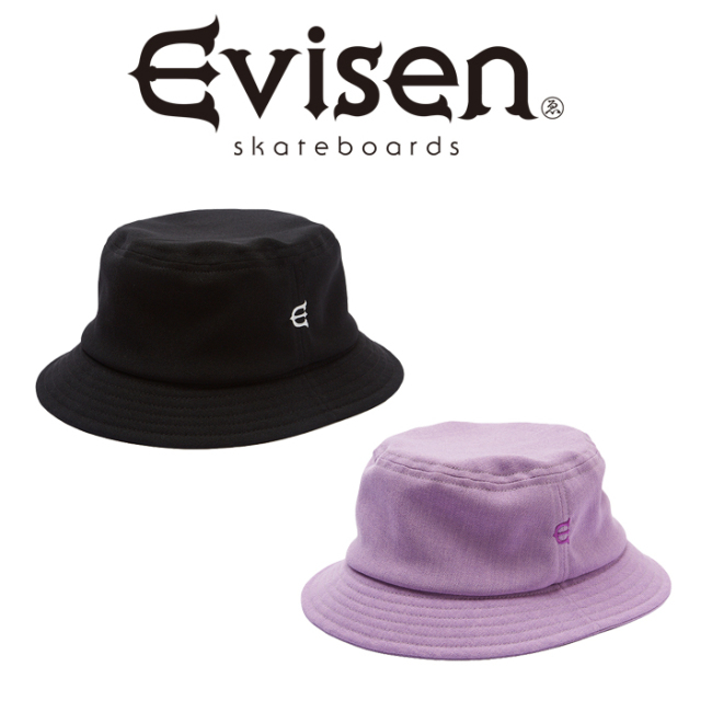 Evisen Skateboards (エヴィセン スケートボード) E LOGO DOBBY HAT 【バケットハット】【2021 SPRING&SUMMER COLLECTION】【00005