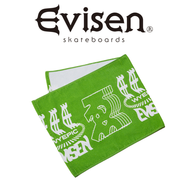 Evisen Skateboards (エヴィセン スケートボード) WYEPIC TOWEL 【タオル】【2021 SPRING&SUMMER COLLECTION】【00005305】