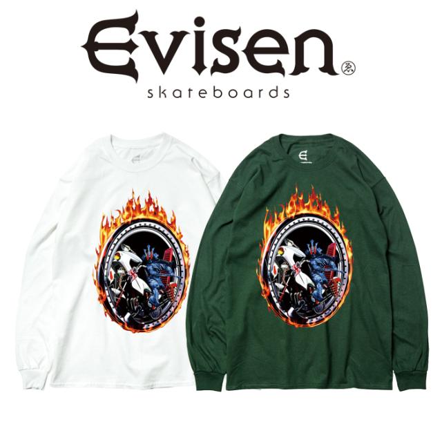 Evisen Skateboards (エヴィセン スケートボード) KREISWAGEN V9000 LS 【ロングスリーブTシャツ】【2021SPRING&SUMMER COLLECTION
