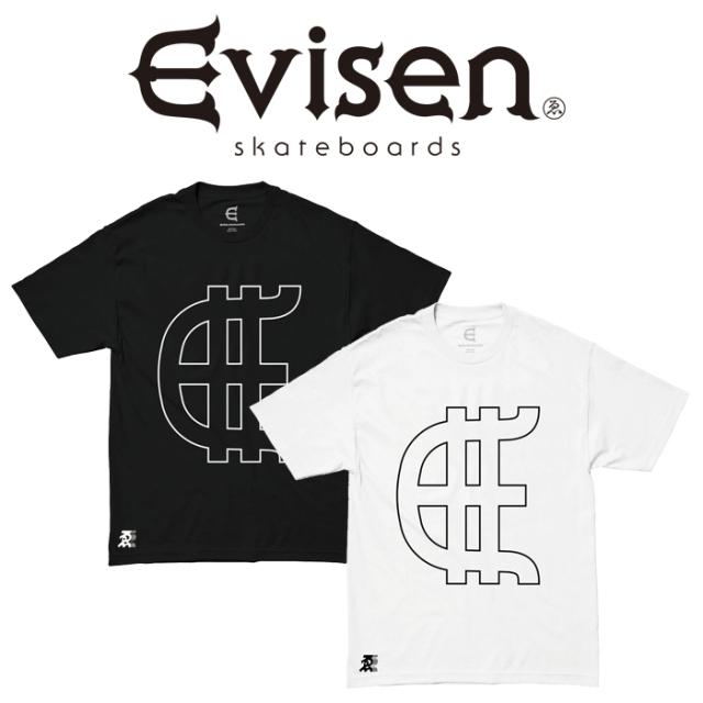 【SALE30%OFF】  【EVISEN】 Evisen Skateboards (エヴィセン スケートボード)  EVY  【Tシャツ 半袖 プリントT】【エビセン スケ