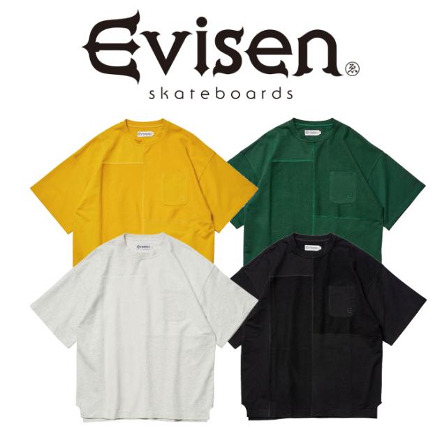 【SALE30%OFF】 【EVISEN】 Evisen Skateboards (エヴィセン スケートボード)  EVESAN T-SHIRT  【Tシャツ 半袖】【エビセン スケ